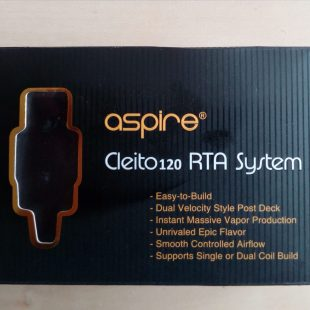 RTA SYSTEM «ASPIRE CLEITO 120» [VapeMotion]